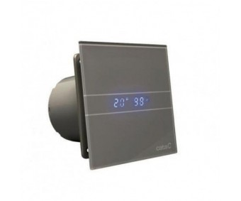 E-100 GHT BK, Black, CATA, Humidity Sensor, Timer, led. glass,