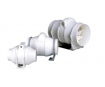 DUCT IN-LINE 150/560, 33,4 x 28,8 x 23,4 cm, 595 m³/h, 60W, 27db